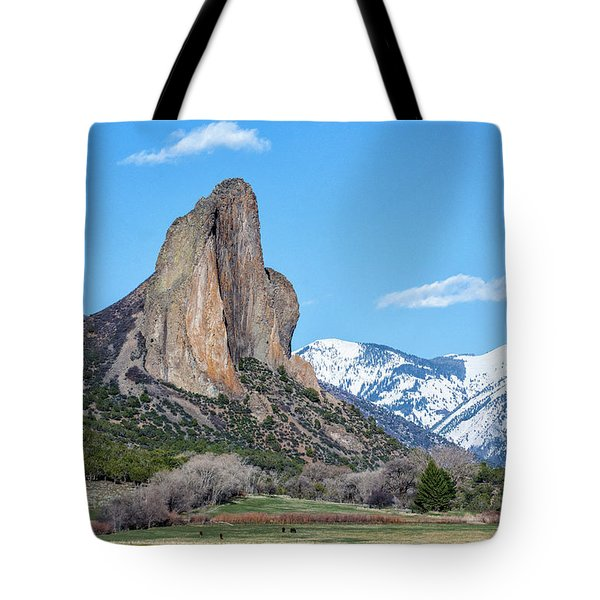 Needle Rock Tote Bag