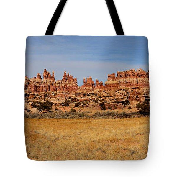 Needles At Canyonlands Tote Bag