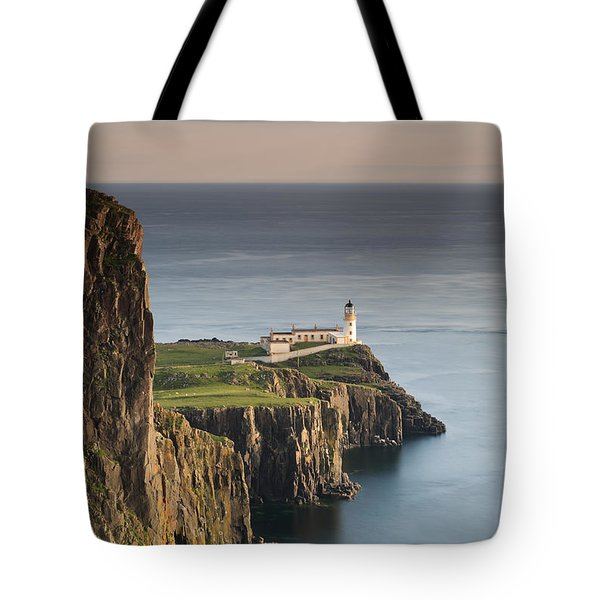 Neist Point At Sunset Tote Bag