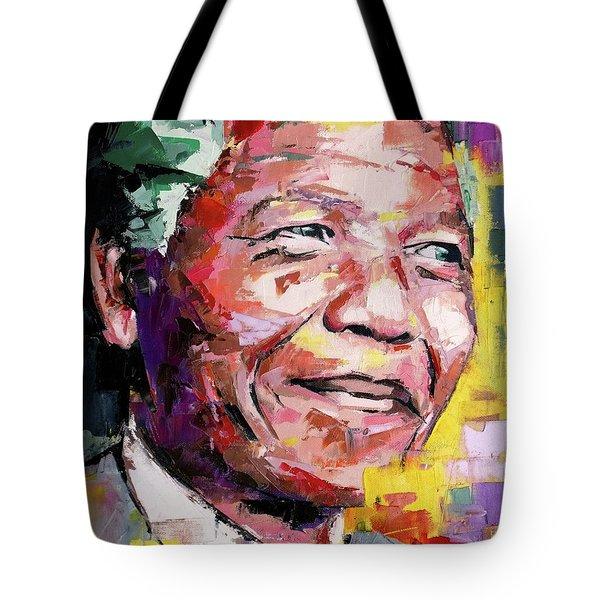 Nelson Mandela Tote Bag