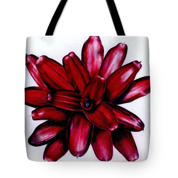 Neoregelia 'christmas Cheer' Tote Bag