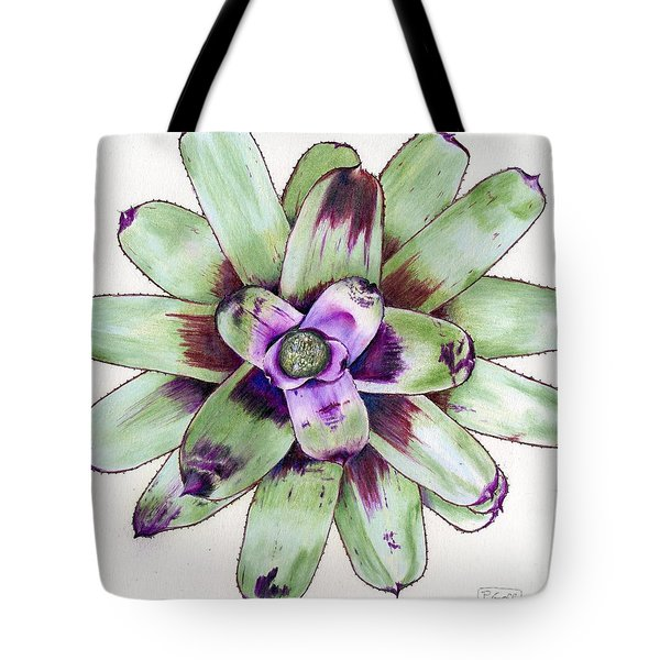 Neoregelia 'painted Delight' Tote Bag