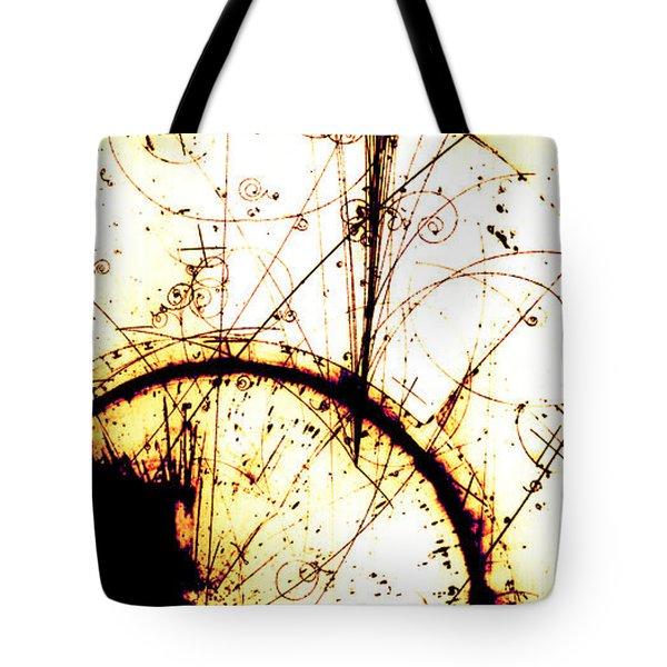 Neutrino, Bubble Chamber Event Tote Bag