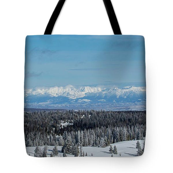 Never Summer  Tote Bag