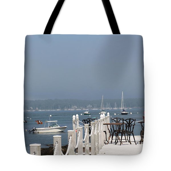 New Castle Harbor Nh Tote Bag