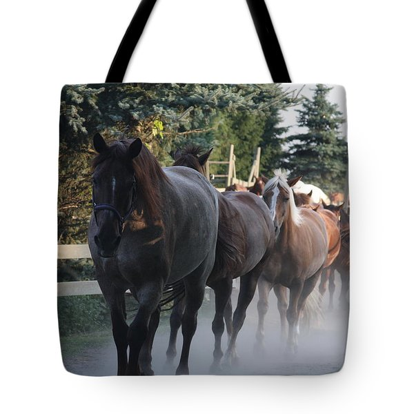 Tote Bag featuring the photograph New Morning by Vadim Levin