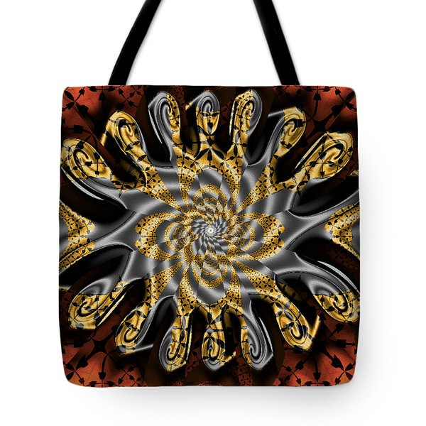 New Dimensions Tote Bag by Jim Pavelle