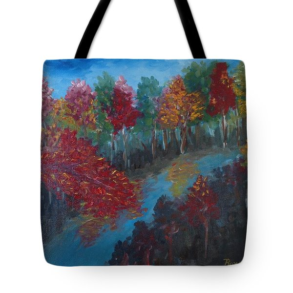 New Hampshire In Autumn Tote Bag