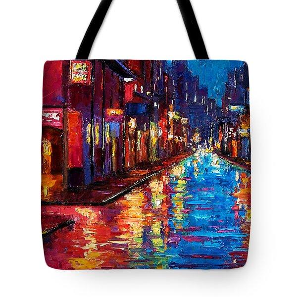 New Orleans Magic Tote Bag by Debra Hurd