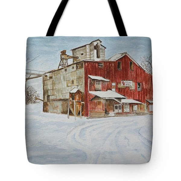 New Palestine Elevator Tote Bag