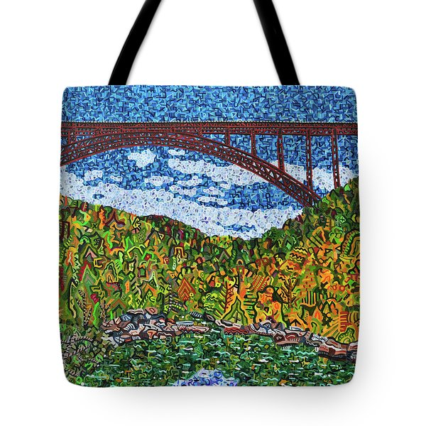 New River Gorge Tote Bag by Micah Mullen