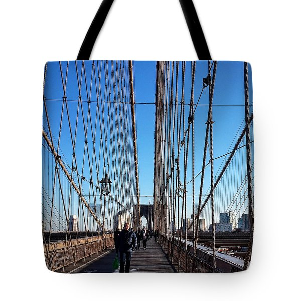 New York City - Brooklyn Bridge Tote Bag