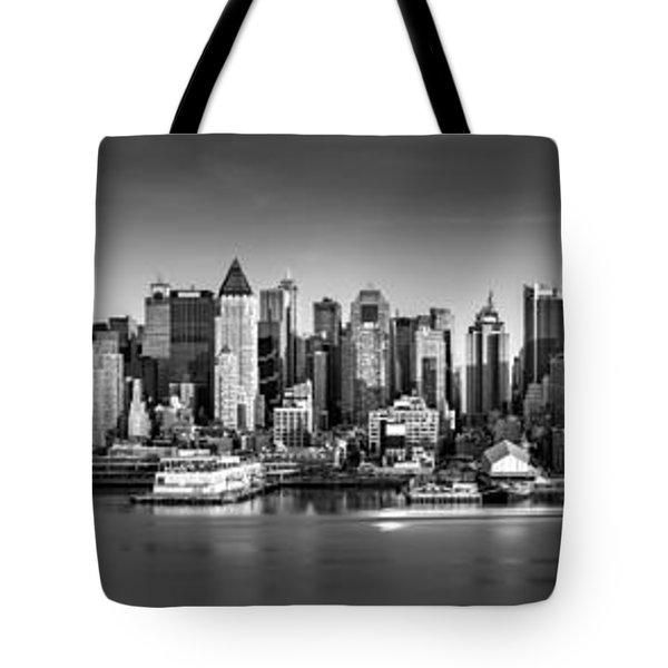 New York City Panorama Tote Bag