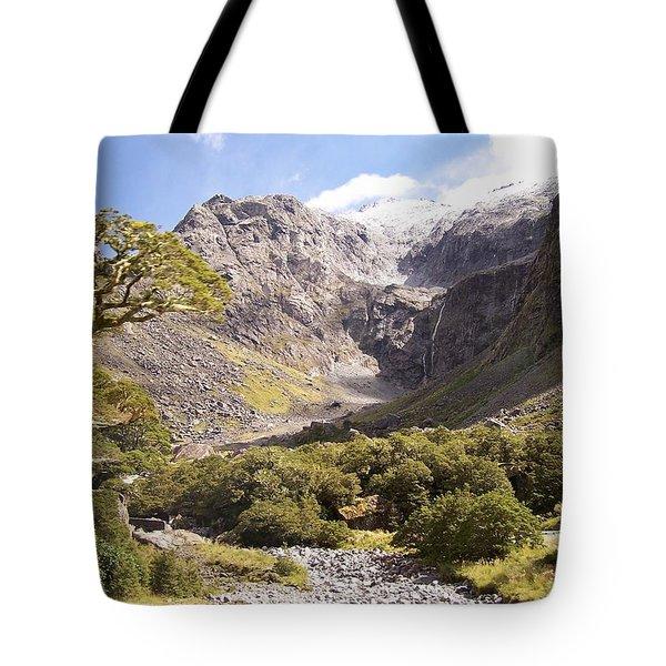 New Zealand Landscape Tote Bag
