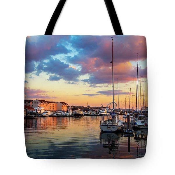 Newports Dusk Tote Bag