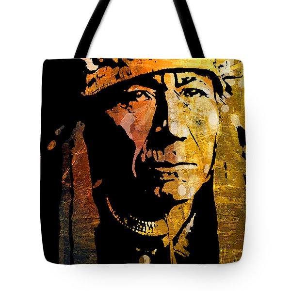 Nez Perce Chief Tote Bag