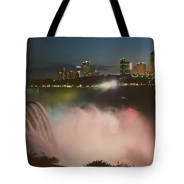 Tote Bag featuring the photograph Niagara  by Raymond Earley