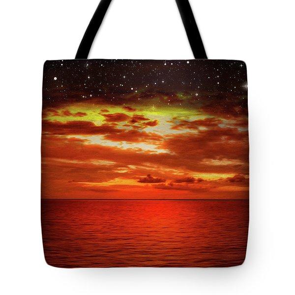 Night Is Falling 2 Tote Bag