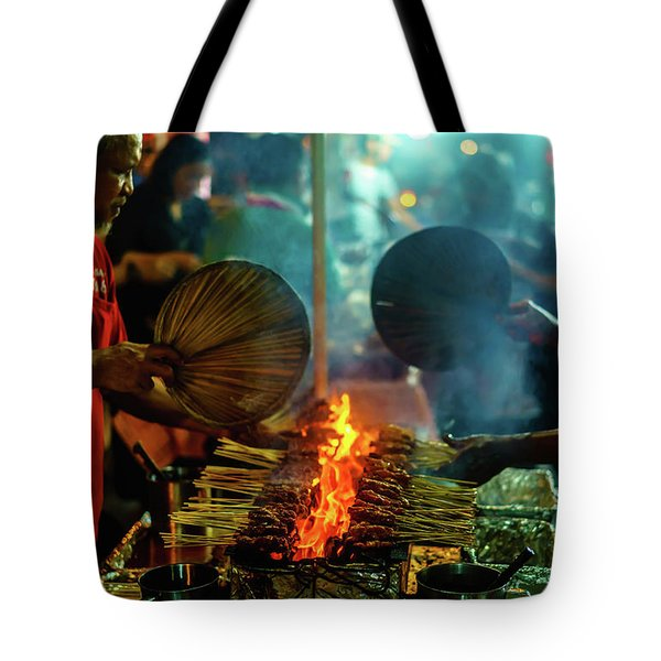 Night Satay II Tote Bag