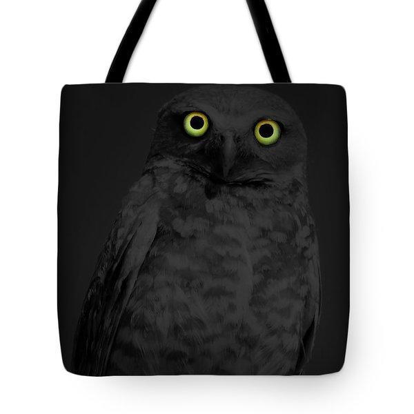 Night Stare Tote Bag