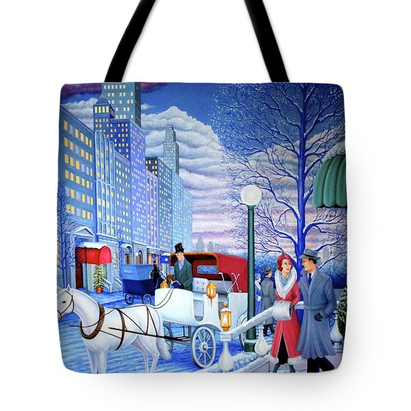 Nightfall Tote Bag by Tracy Dennison