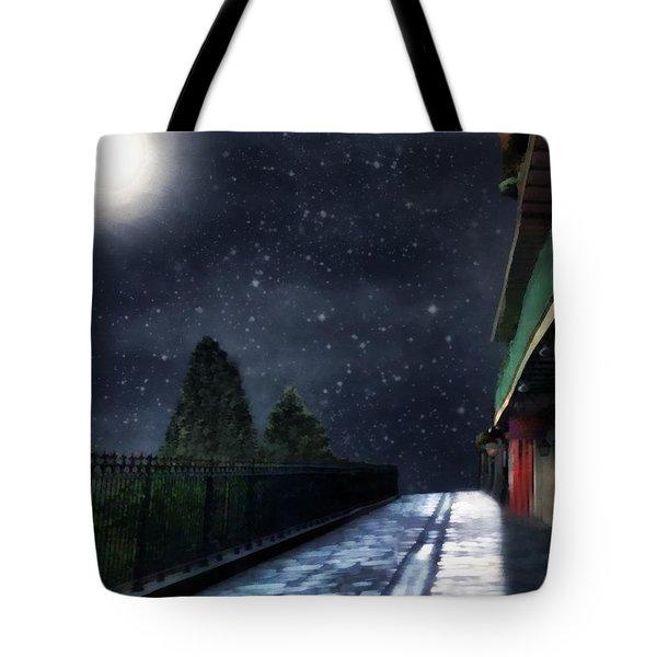 Nightwalk Tote Bag by RC deWinter