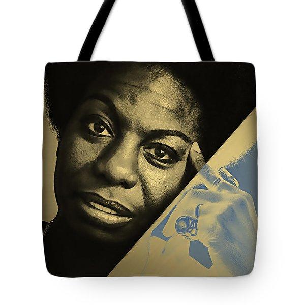 Nina Simone Collection Tote Bag