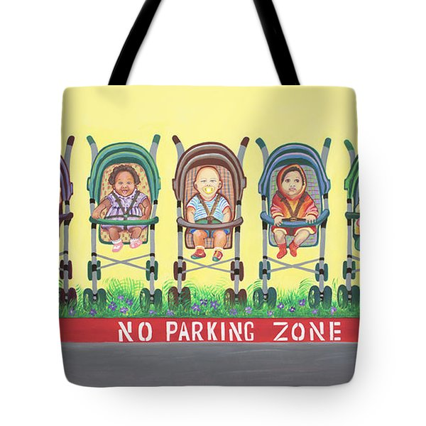 No Parking Zone Tote Bag