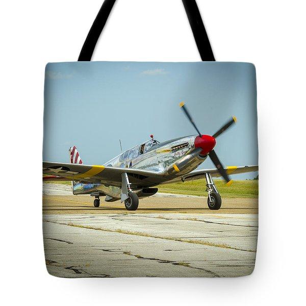 North American Tp-51c Mustang Tote Bag