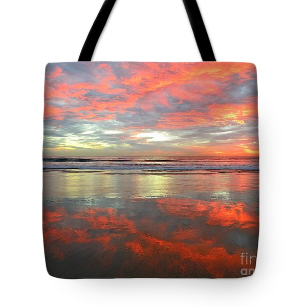 North County Reflections 48x60 Inches Tote Bag