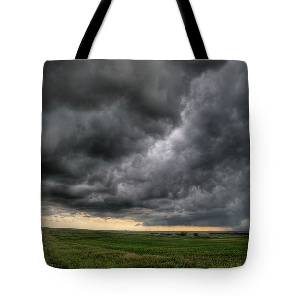 North Dakota Thunderstorm Tote Bag