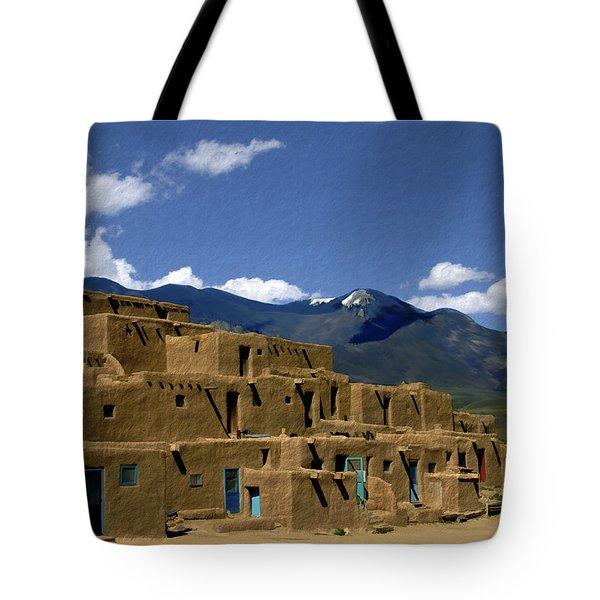 North Pueblo Taos Tote Bag