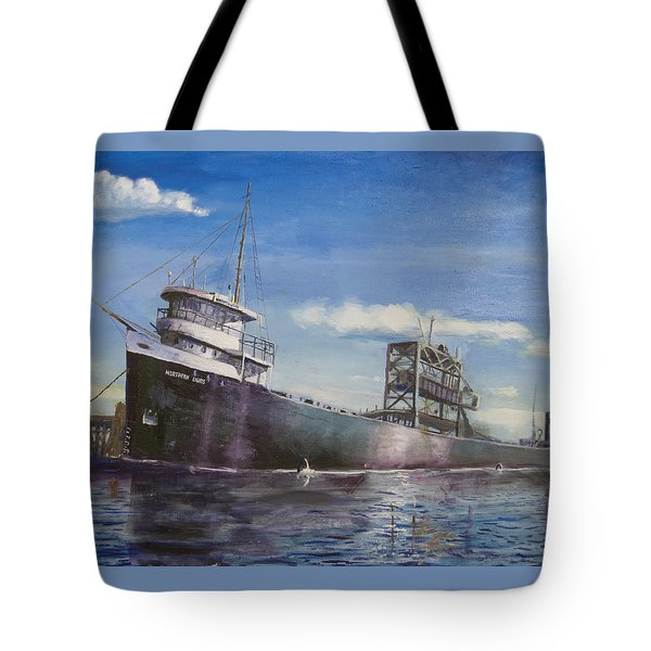 Northern Lights Tote Bag by Christopher Jenkins