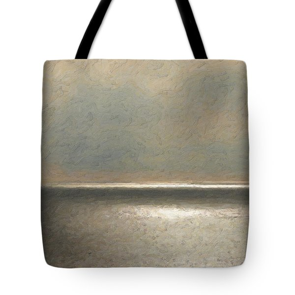 Not Quite Rothko - Twilight Silver Tote Bag by Serge Averbukh