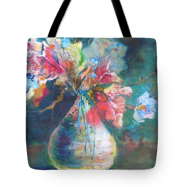 Not Your Mothers Vase Tote Bag
