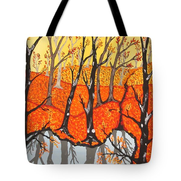 November Morning  Tote Bag by Jeffrey Koss