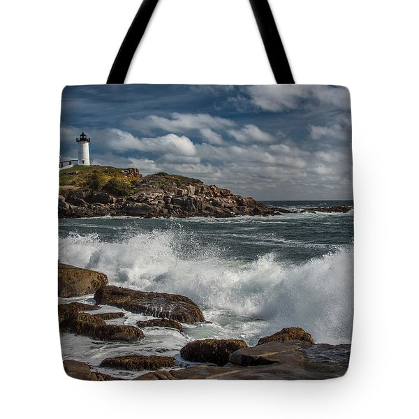 Nubble Light Tote Bag by Fred LeBlanc