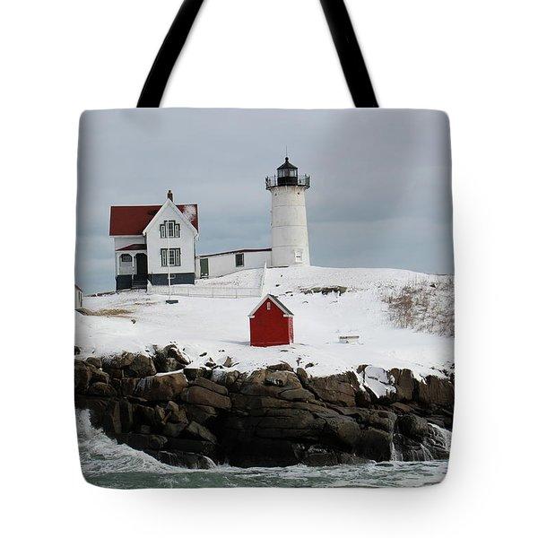 Nubble Point Maine Tote Bag