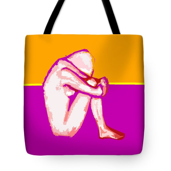 Nude 10 Tote Bag by Patrick J Murphy