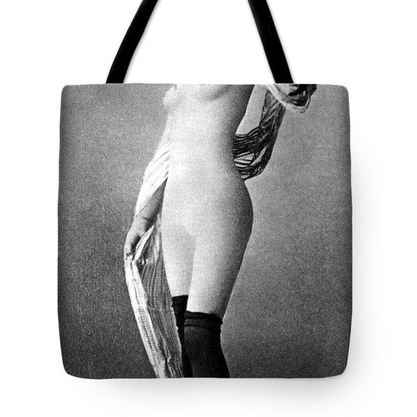 Nude Posing, C1888 Tote Bag by Granger