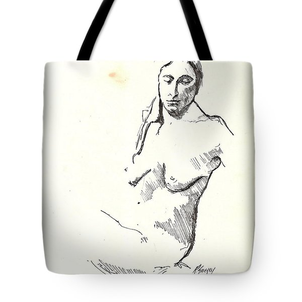 Nude Three Tote Bag