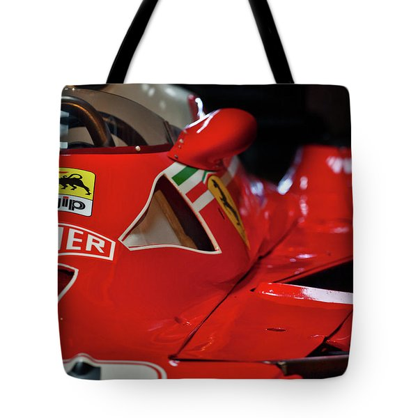 Number 11 By Niki Lauda #print Tote Bag