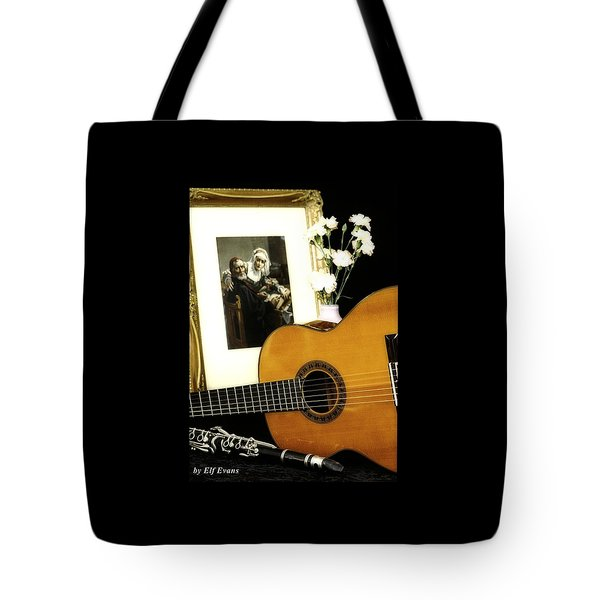 Tote Bag featuring the photograph Number 2 by Elf Evans