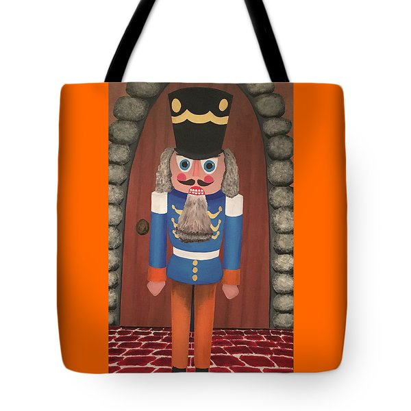 Tote Bag featuring the painting Nutcracker Sweet by Thomas Blood