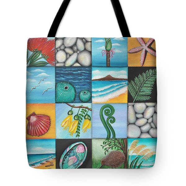 Nz Treasures Tote Bag by Astrid Rosemergy