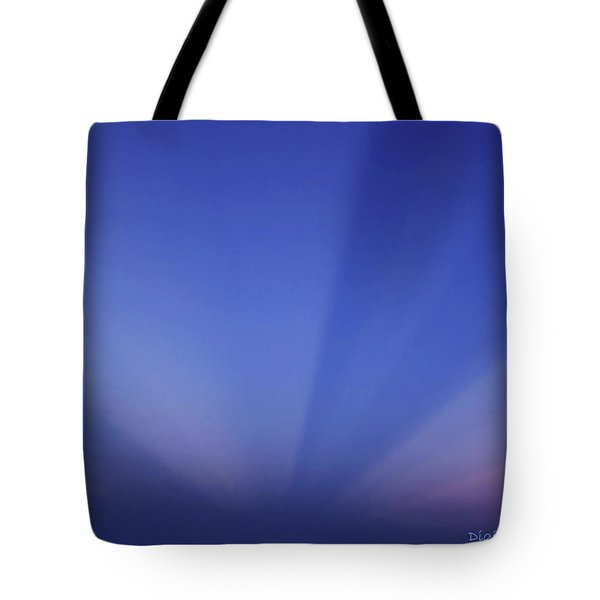 Ocean Illumination Of The Sky Tote Bag