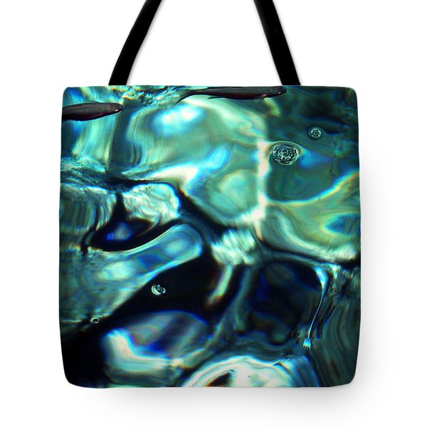 Tote Bag featuring the photograph Ocean Water by Colette V Hera  Guggenheim