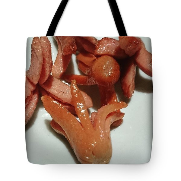 Octopus Type Wiener  Tote Bag