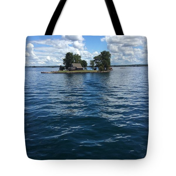 Tote Bag featuring the photograph 1 Of 1000 Islands by Pat Purdy
