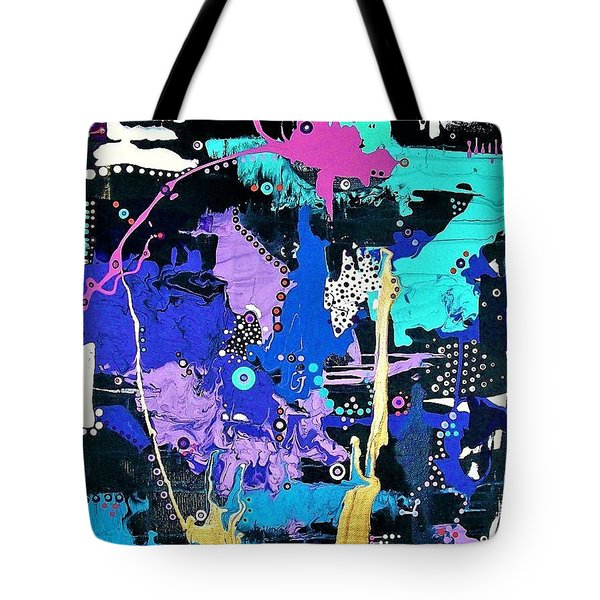 Of Moonbeams And Mad-hatters Tote Bag